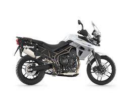 Tiger 800 XRT Crystal White