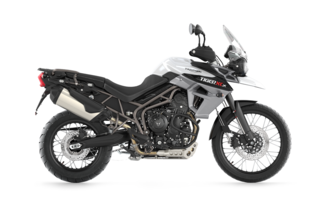 Tiger 800 XCX Crystal White