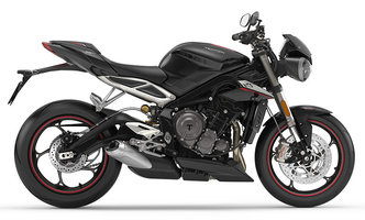 De Street Triple Rs Phantom Black