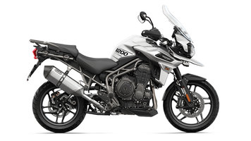 Tiger 1200 XRT Crystal White