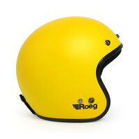 ROEG JETT HELMET MATT YELLOW