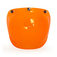 ROEG BUBBLE VISOR FOR JETT HELMET ORANGE