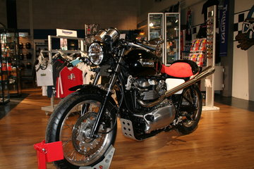 Thruxton Shark special