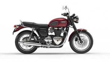 Bonneville T120 Cinder Red
