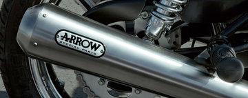 Arrow 2 in 2 exhaust system