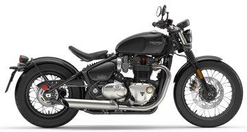 Bonneville Bobber Jet Black