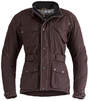 waxed cotton Barbour jack